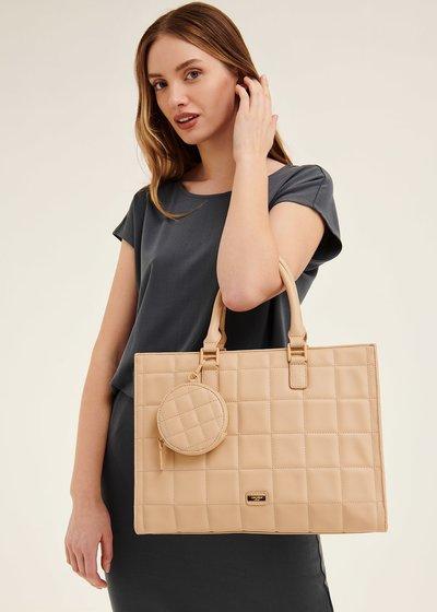 Betty semi-rigid shopping bag