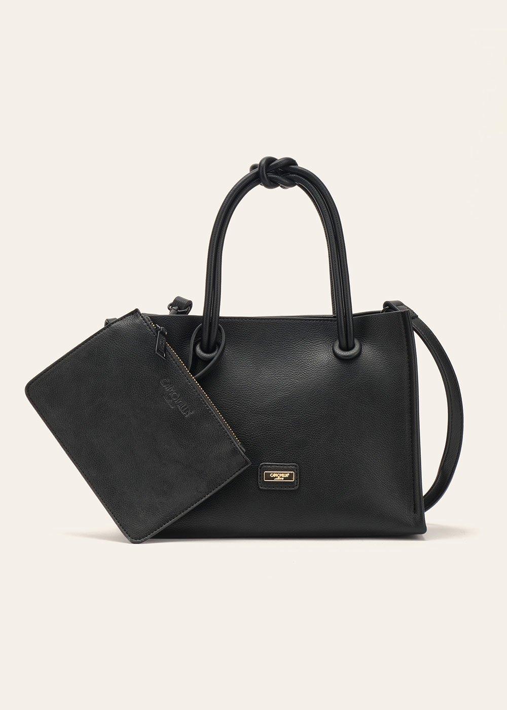 Brenda soft shoulder bag - Black - Woman