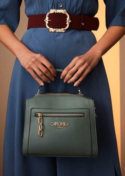 Bahiti Boston bag with external pocket