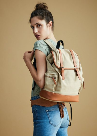 Bill canvas backpack