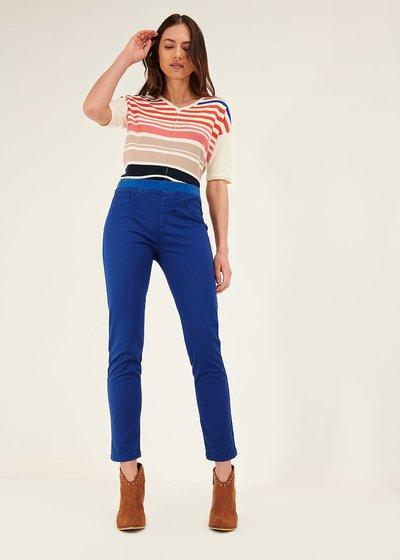 Pantalone Kelly con elastico in vita