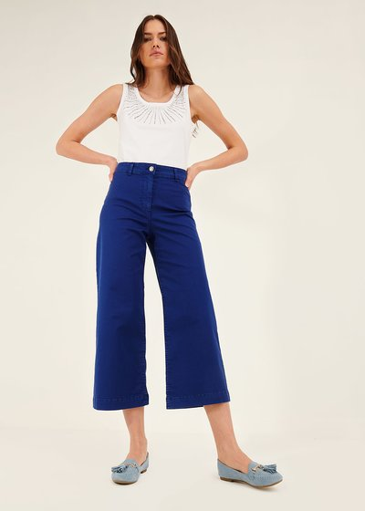 Megan wide-leg trousers