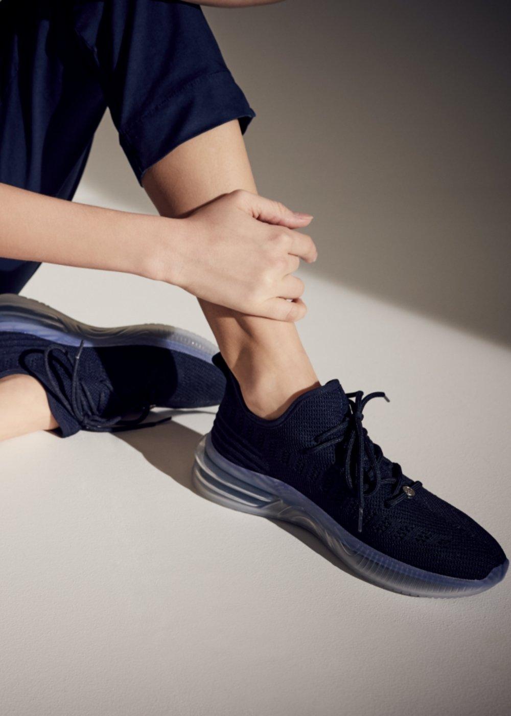 Surly jersey sneakers - Ultramarine - Woman