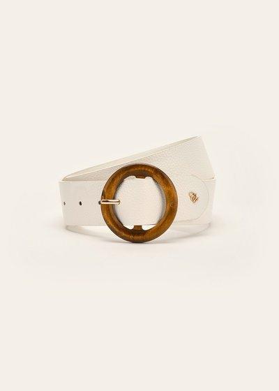 Cintura Camyl con fibbia in legno