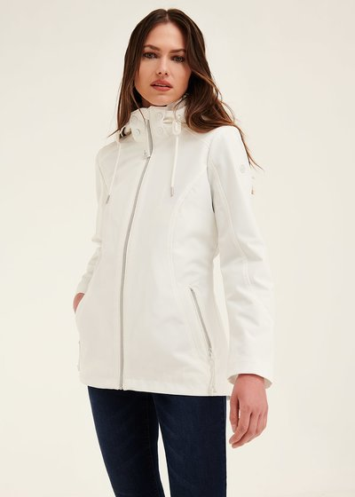 George jacket in technical fabric