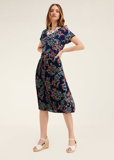 Gioia skirt with all-over pattern