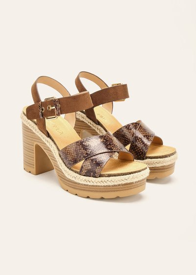 Sandalo Steila con zeppa