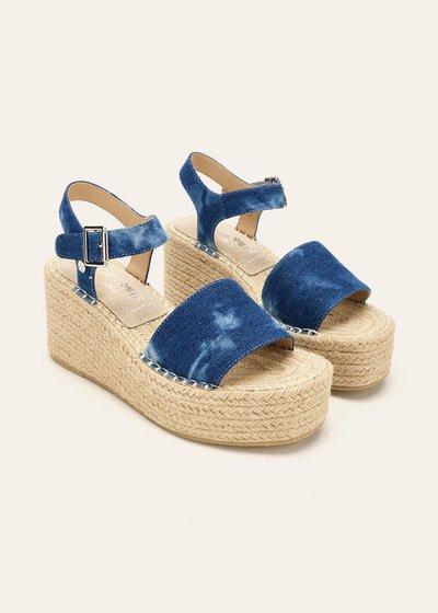 Sandalo Sher in denim