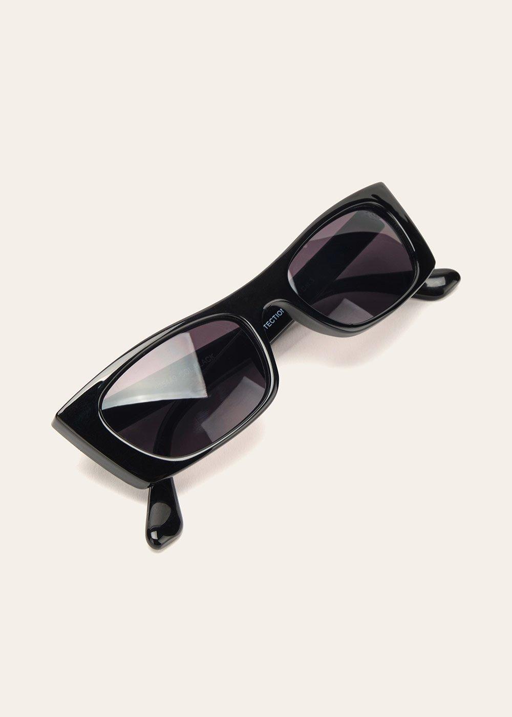 Square sunglasses - Black - Woman