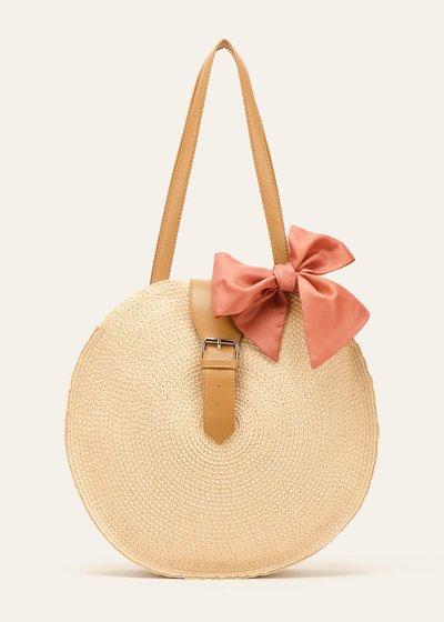 Blitsey round shopping bag