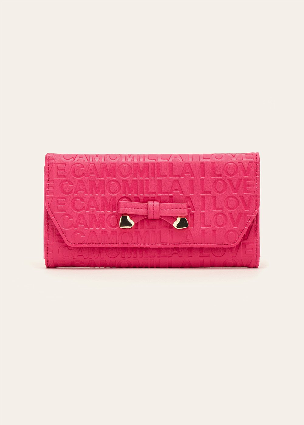Perry logomania wallet - Rasberry - Woman