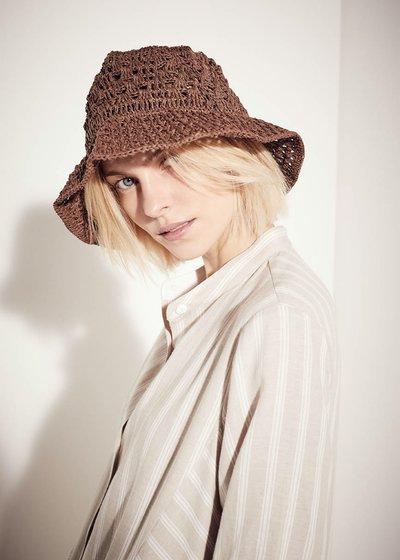 Chester openwork straw hat