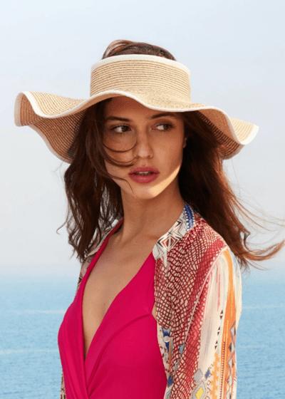Ciapas visor hat