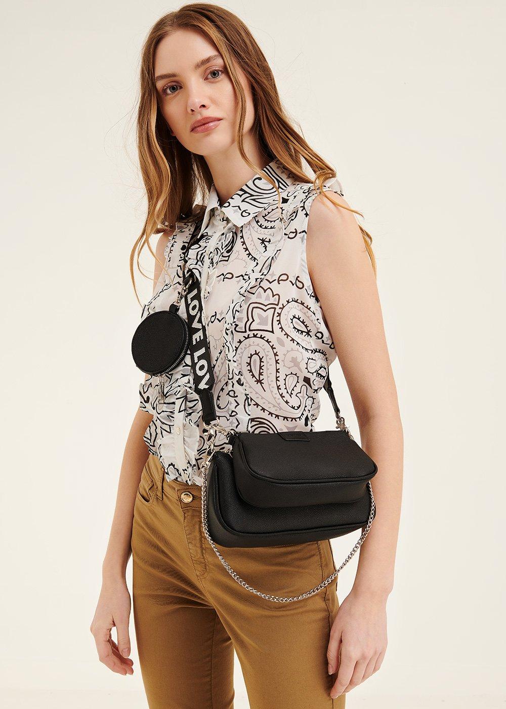 Barbara multi pochette bag - Black - Woman