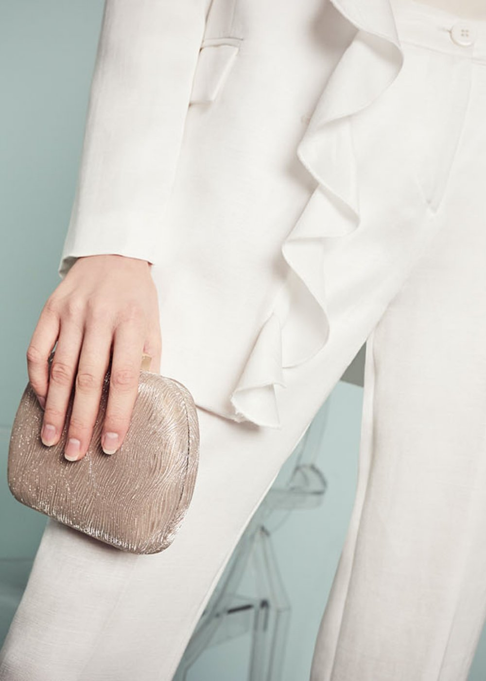 Clutch bag Baky rigida - Donna