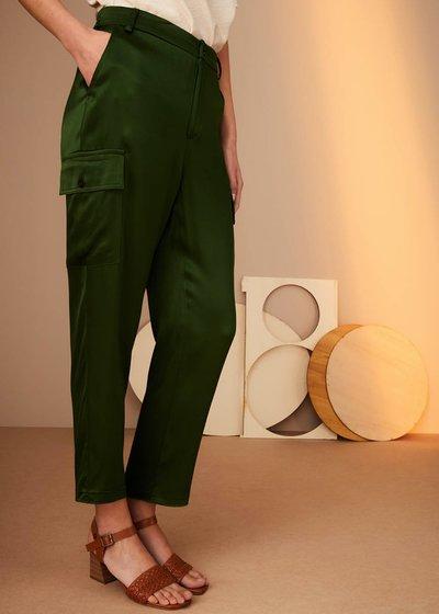 Pantalone Peleo in tessuto bambù