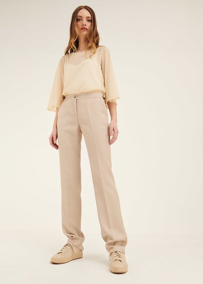 Alice linen and viscose trousers