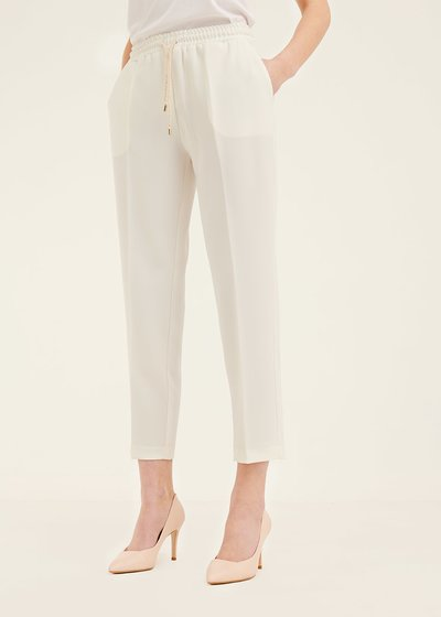 Cara trousers with drawstring waist