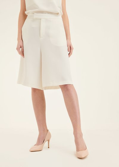 Ashley wide-leg bermuda shorts