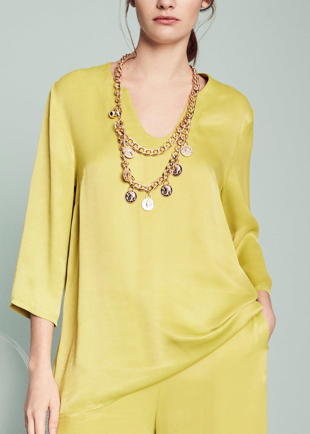 Sara citronella blouse - Citronelle - Woman