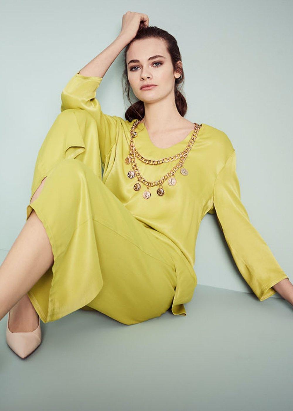 Pantalone Megan citronella - Citronella - Donna