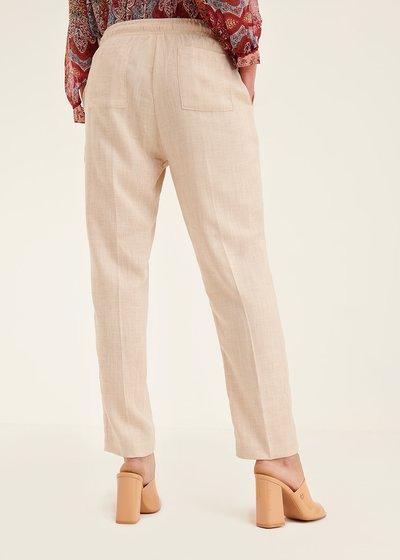 Pantalone Cara con elastico in vita