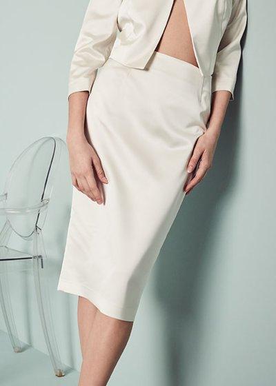 Elisabeth skirt with slit