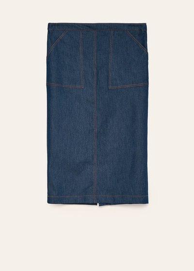 Lara skirt with stitched pockets