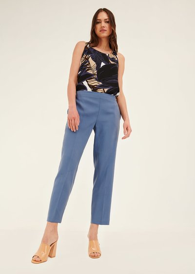 Cara trousers with elastic back