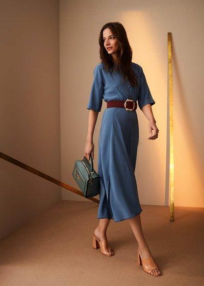Jane dress with smock stitch