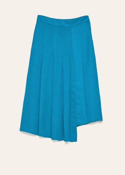 Miranda linen blend skirt