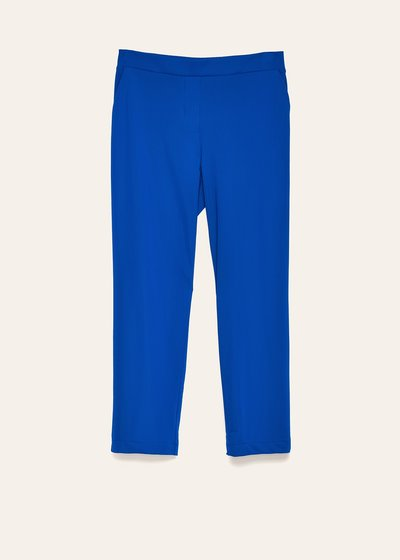 Cara elastic trousers in technical fabric