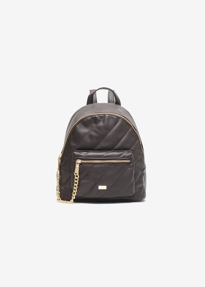 Bayan backpack with stitching and chain