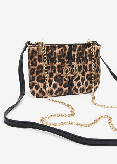Tonga Bag in animal print eco leather