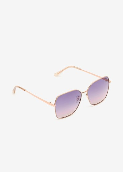 Sunglasses with Gold Rosè frame