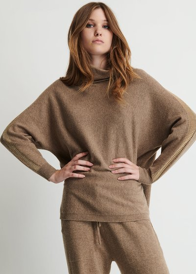 Mara Sweater with Batwing Sleeves