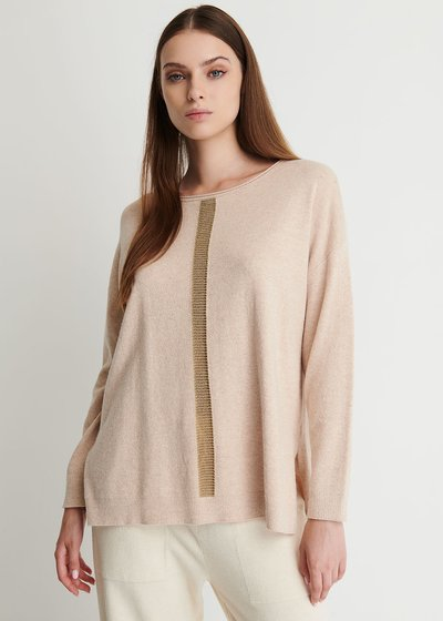 Mamy Sweater Wide Neckline