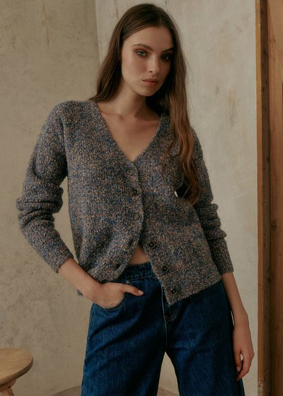 Claud Cardigan in Recycled Polyester