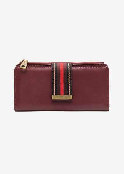 Parys Ribbon closure wallet