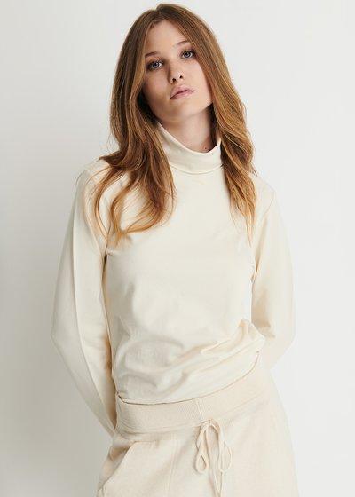 Sanya Jersey Turtleneck Sweater