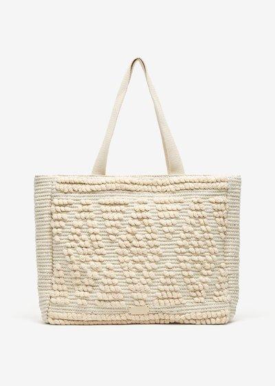 Birmania Jacquard Cotton Shopping Bag