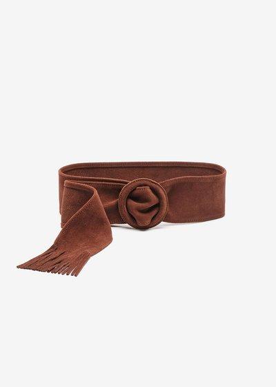 Catryn belt in real suede