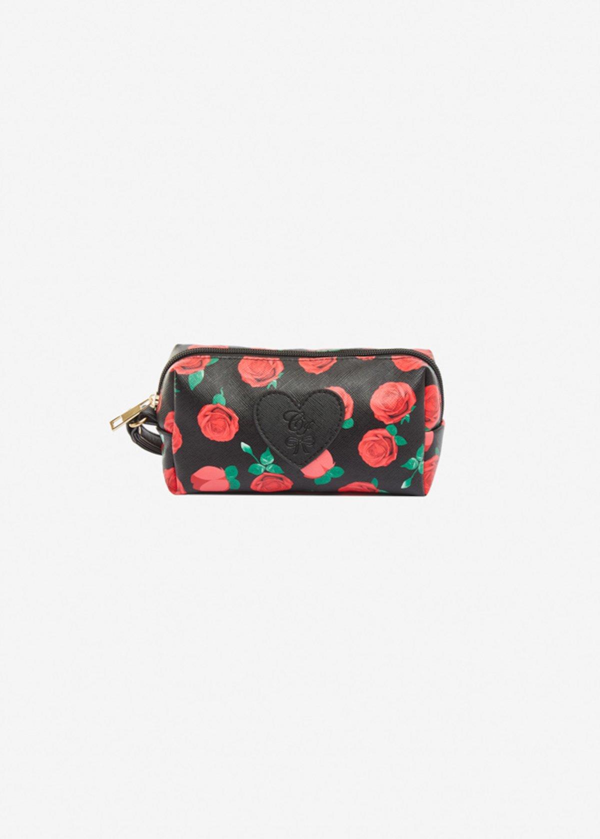 Beauty case Bricco Roses - Black Fantasia