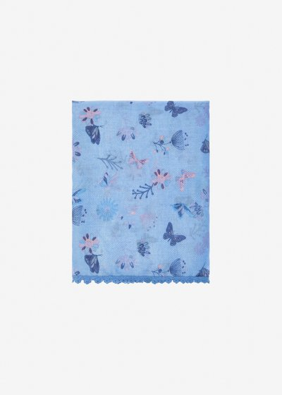 Serena scarf butterfly print