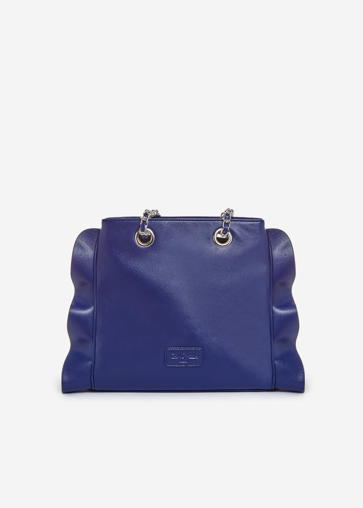 Besmira bag ruffle effect blue - Medium Blue