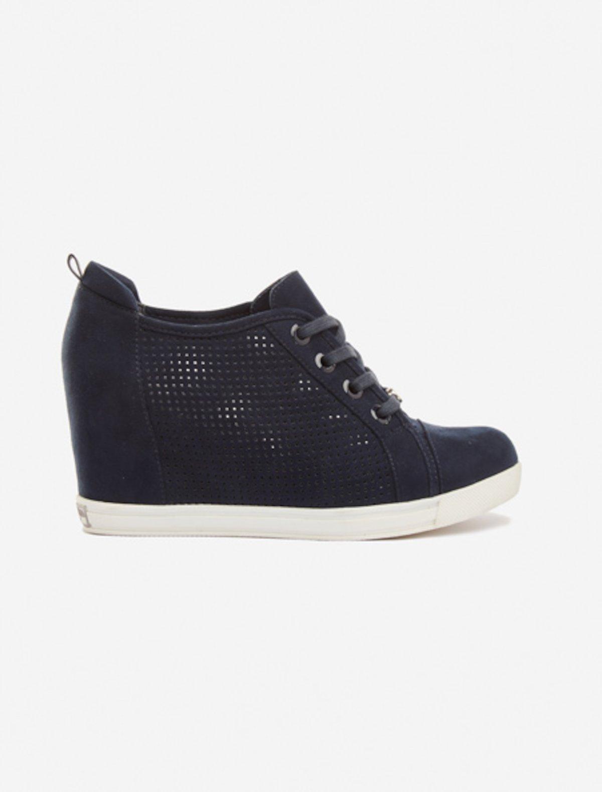 Sliana internal wedge sneakers - Dark Blue
