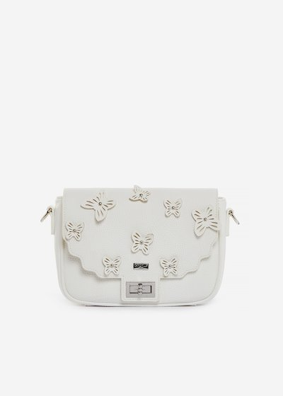 Brigitte handbag in faux leather with butterfly pattern