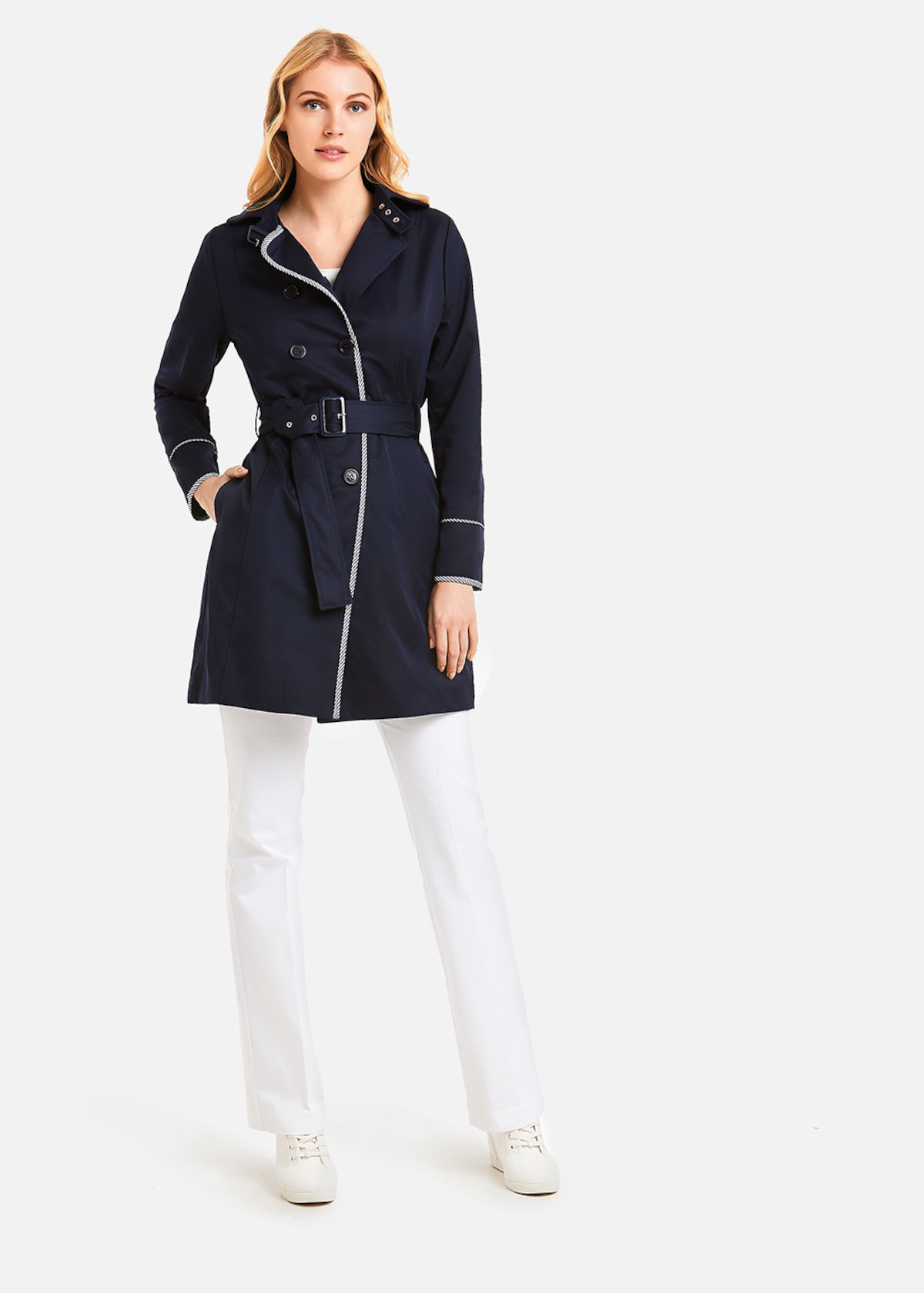 Thomas cotton trench coat
