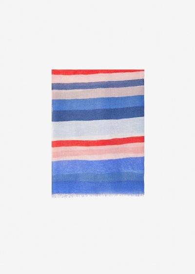 Sanda scarf multicolour - Avion Stripes