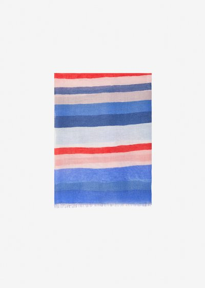 Sanda scarf multicolour - Avion Stripes